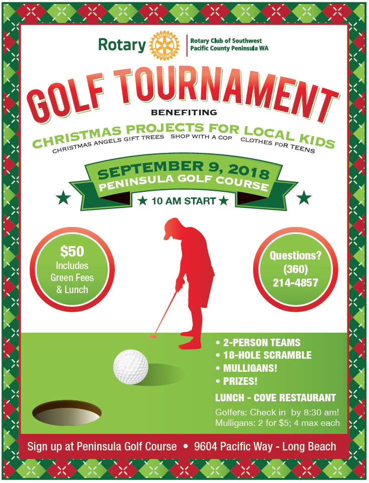 Christmas Programs Golf Tournament | Peninsula Rotary