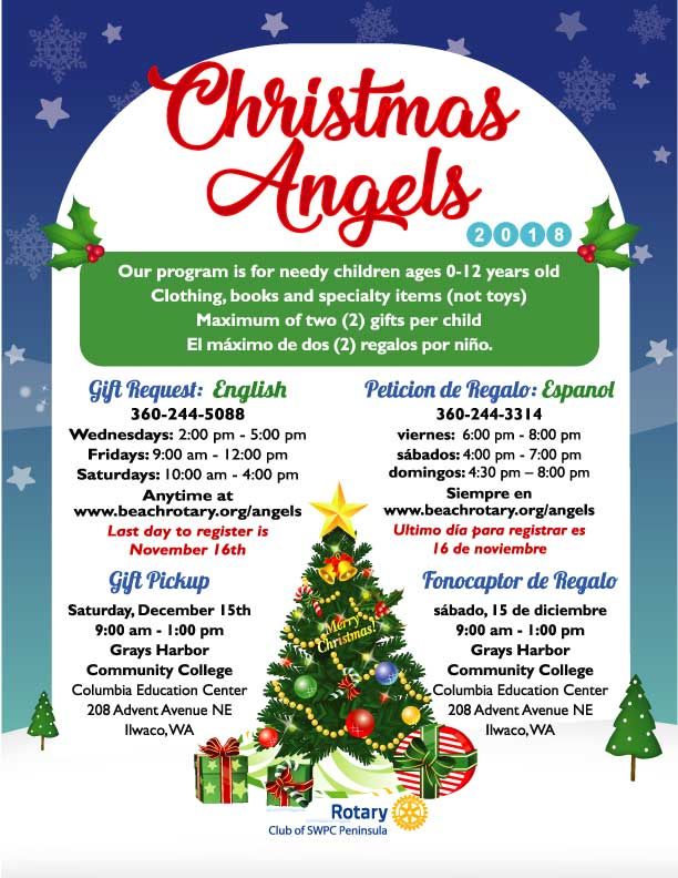 Christmas Angels Gift Trees | Peninsula Rotary