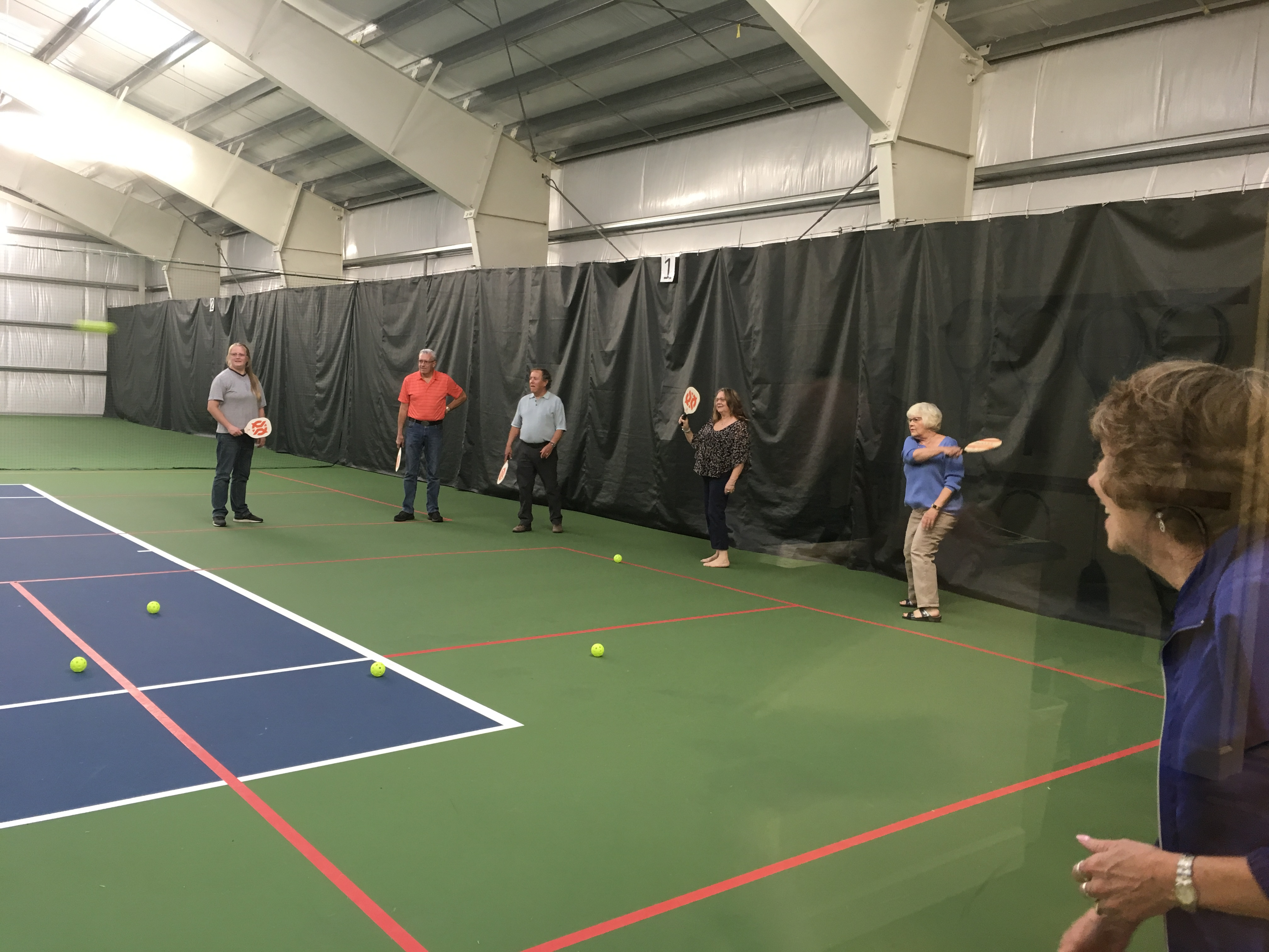 rotary pickleball clinic