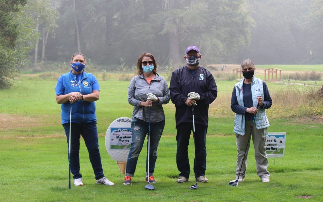 Annual Charity Golf Tournament Raises Record Funds for Peninsula Rotary's Christmas Angels and Shop With a Cop Programs